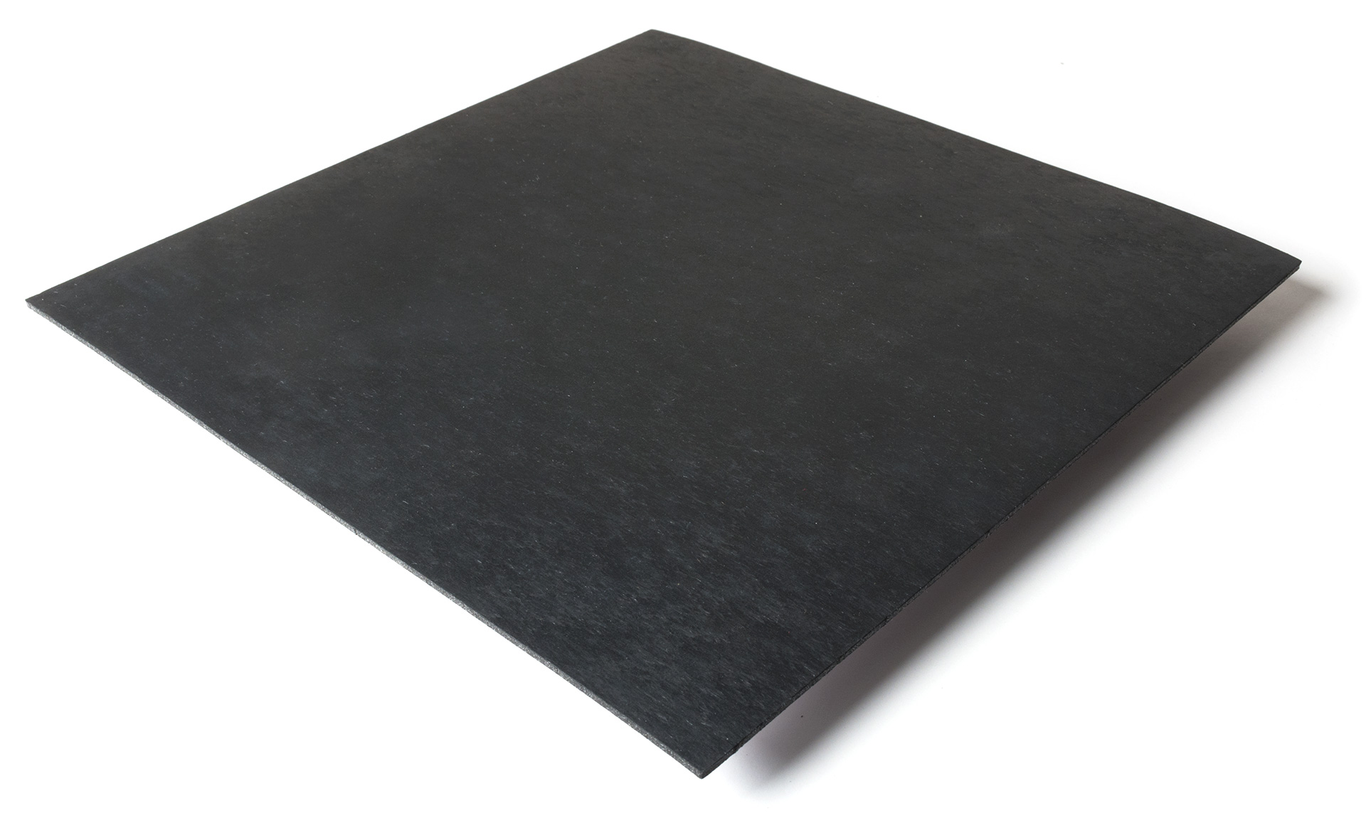 Standard transit flooring in black, smooth
