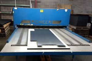 Commercial flooring die-cutting