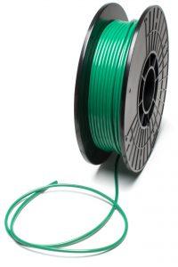 Transit welding cord in green