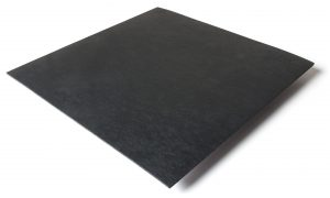 Standard transit flooring in black, smooth