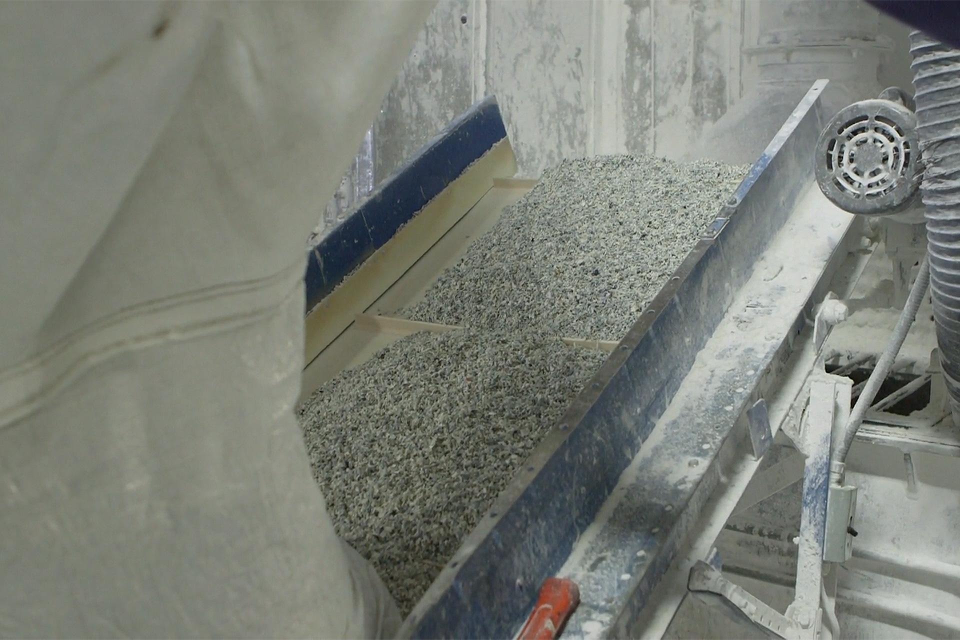 Environmentally sustainable transit floor manufacturing