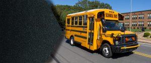 Small school bus transit flooring